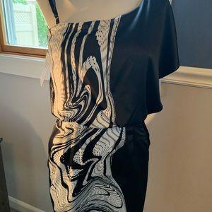 NWT Jessica Simpson one shoulder dress size 2